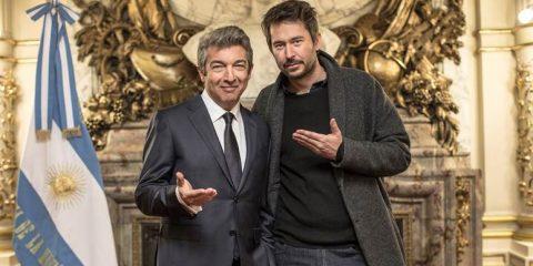 Ricardo Darín y director Santiago Mitre